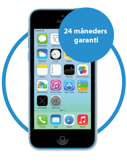 iphone 5c reparation-smartphonecare-odense